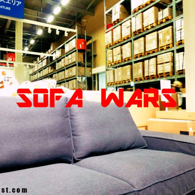 Are You Ready For The Commitment?  Buying A Sofa In Japan photo