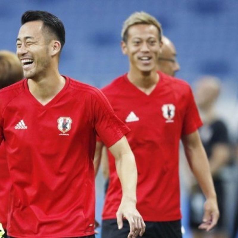 Soccer: Japan focusing on beating Australia not fate of coach, says Yoshida photo