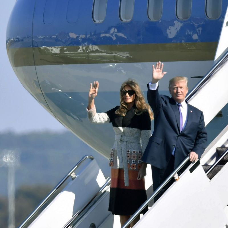 Trump in Japan on 1st leg of Asia trip, regional security a focus photo