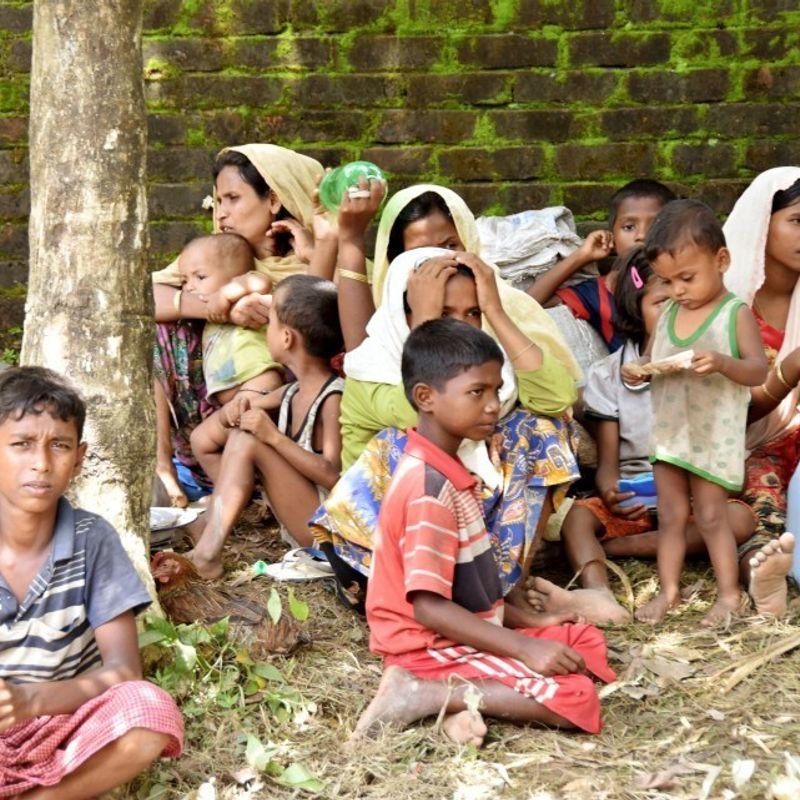 日本、米国、ミャンマー難民危機への懸念を表明 photo