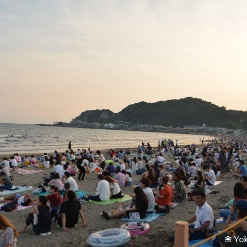 Impressions from the Kamakura Firework Festival photo