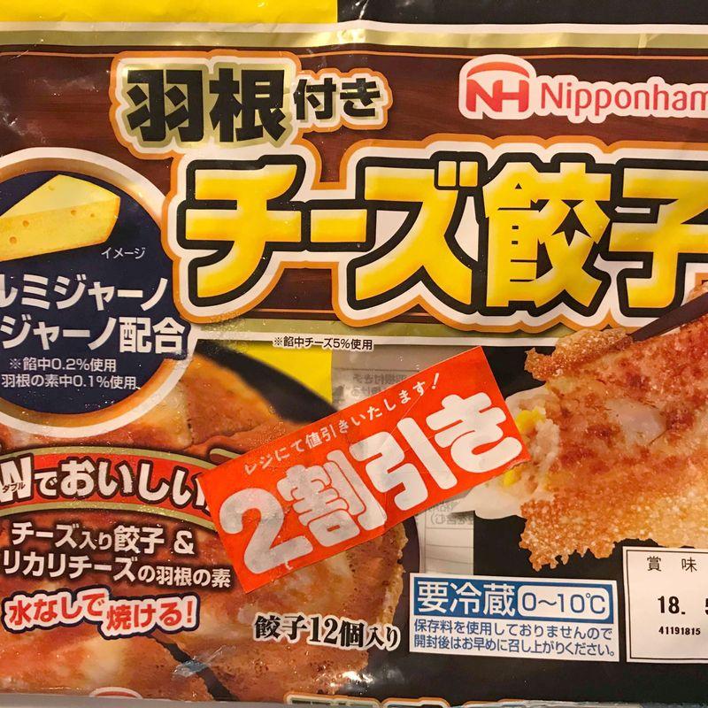 Cheese flavored gyoza photo