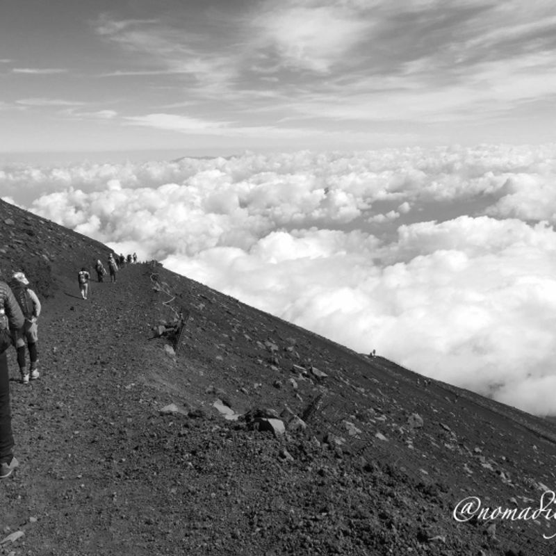 Hike Till Top Of Japan #Mt. Fuji #Summer in Japan photo