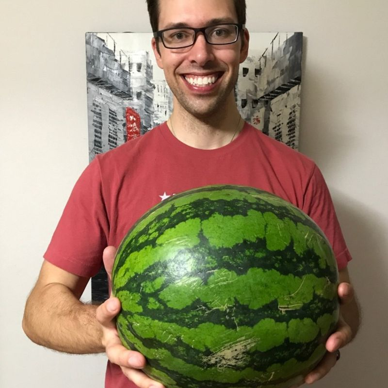 Country living and the story of the free watermelon photo