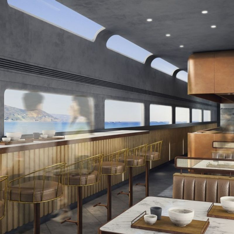Tokyo-Izu sightseeing train to be launched in 2020 photo