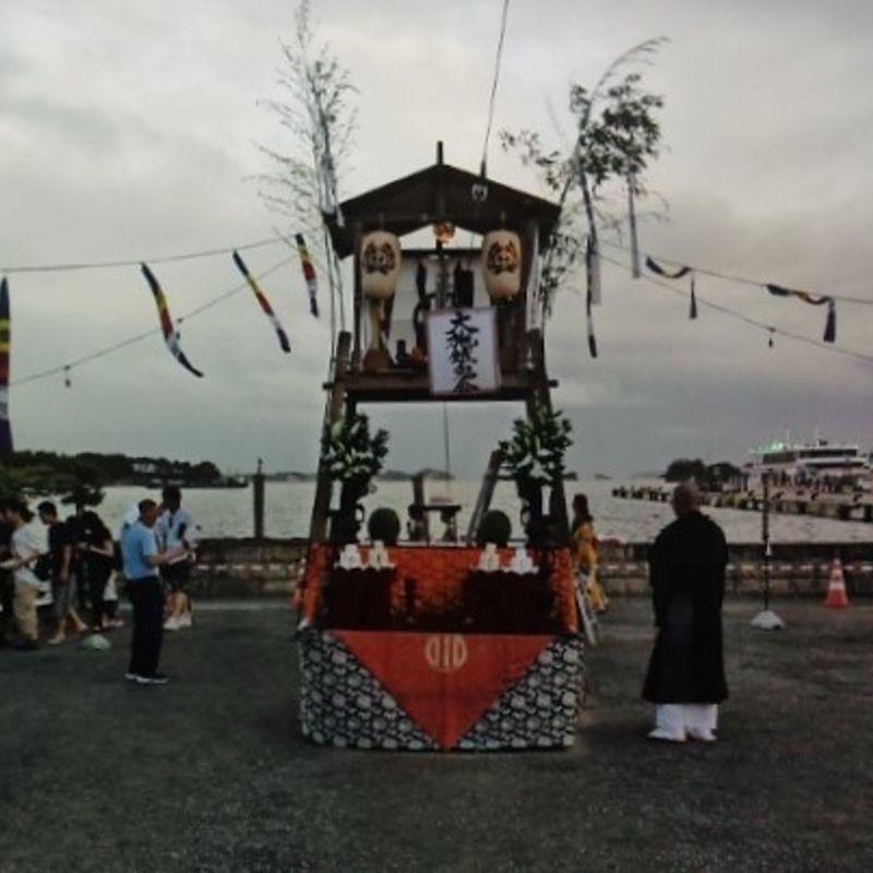 Summer near Sendai: Matsushima Lantern Festival Review photo