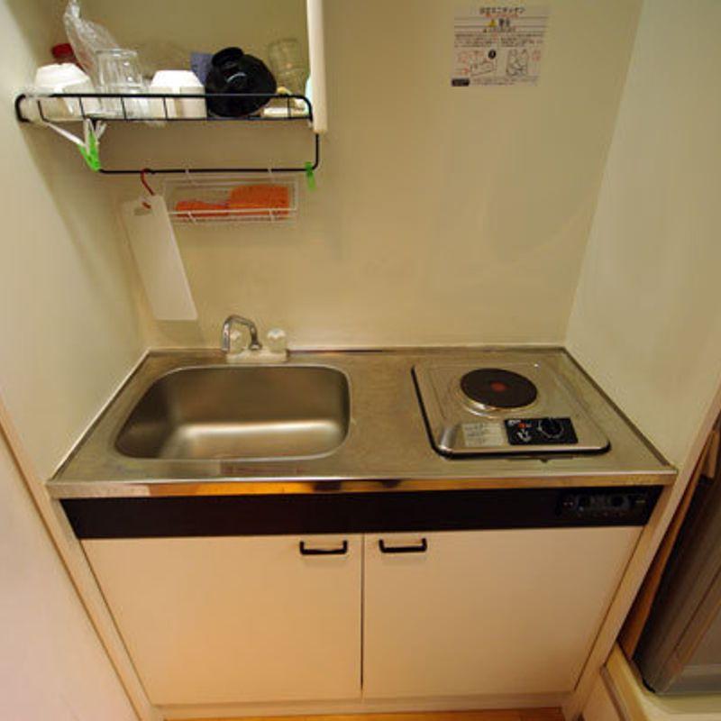 日本で本当の台所なしで健康を保つ方法。 photo