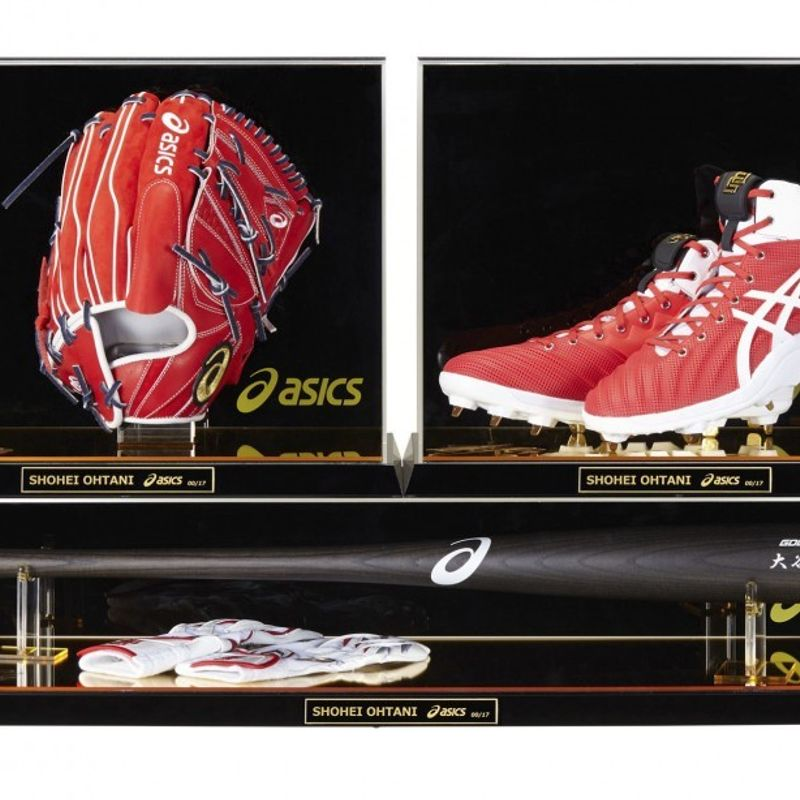 Asics to sell replica Ohtani baseball gear set photo