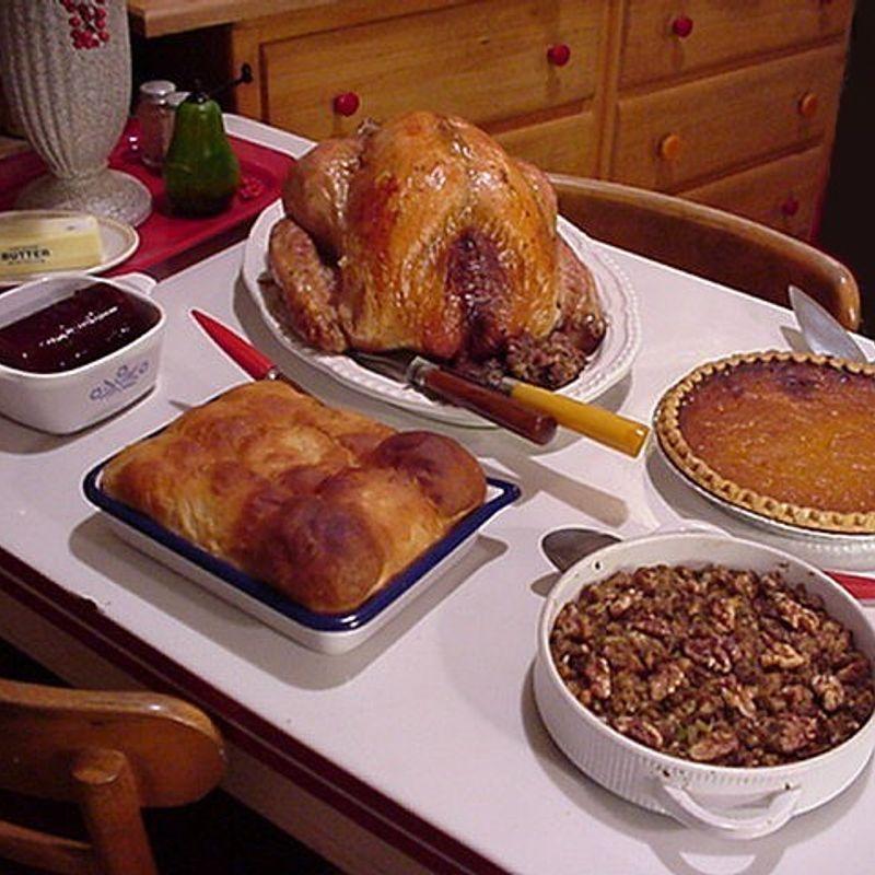 Celebrating Thanksgiving in Japan photo