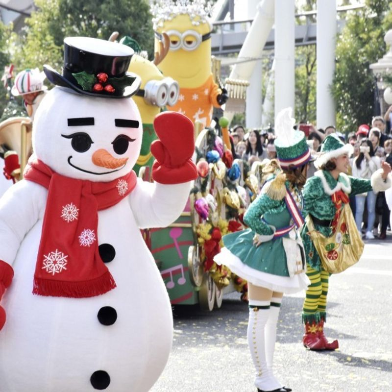 Universal Studios Japan ready for winter visitors photo