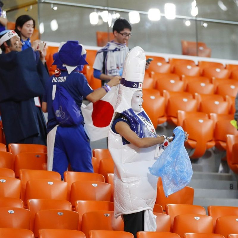 Habit of cleaning at World Cup a chance to spread Japanese culture photo