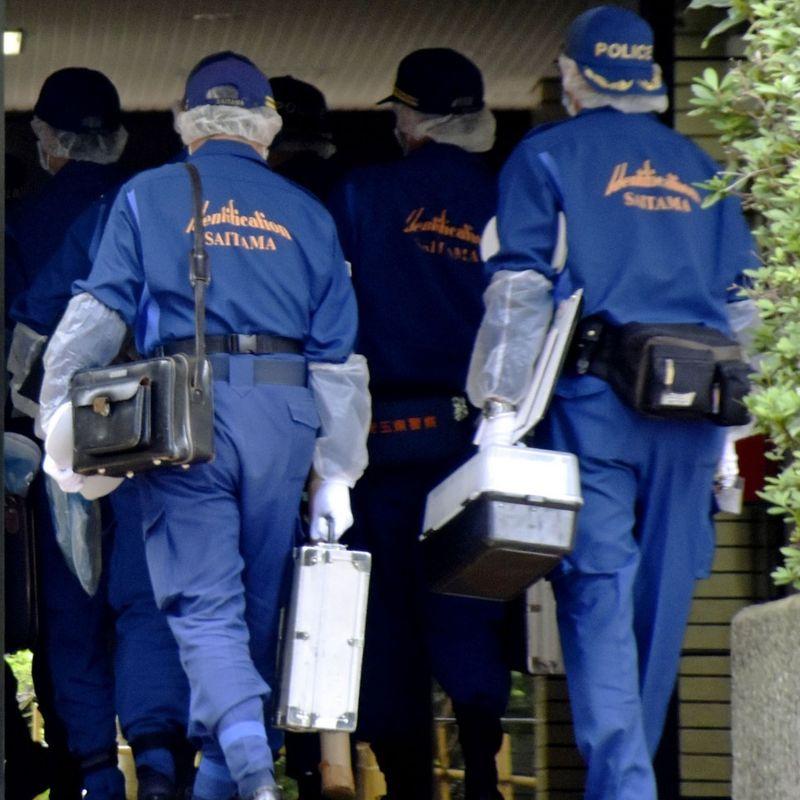 Grandson arrested over stabbing of elderly couple near Tokyo photo