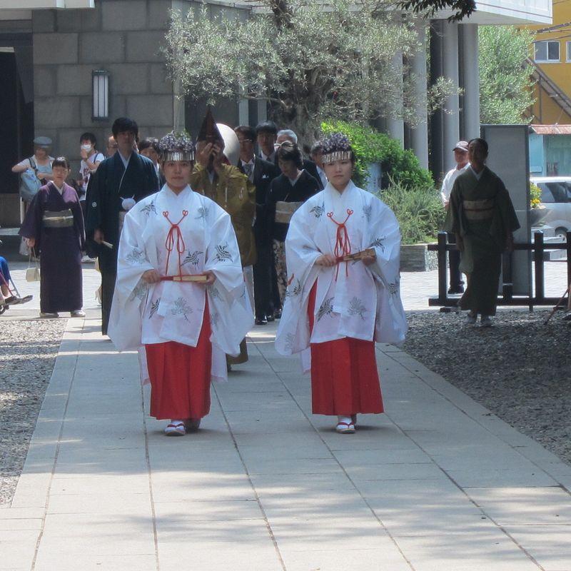 Wind chime festival at Hikawa shrine photo