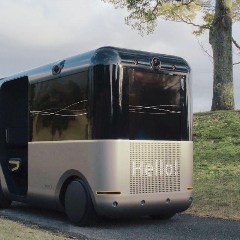 ソニー、AIを搭載したリモート駆動車を開発 photo