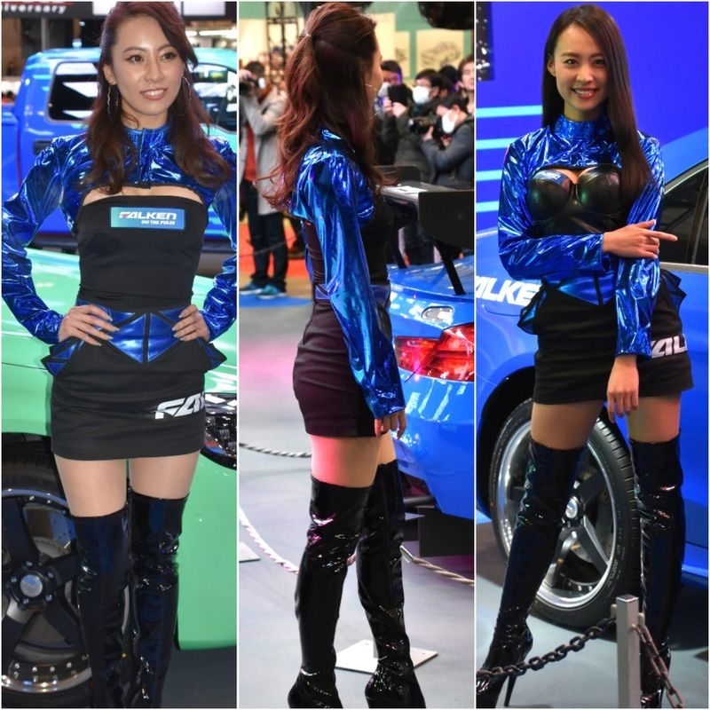 Ladies of 2018 Tokyo Auto Salon: Gallery of booth models and race queens photo