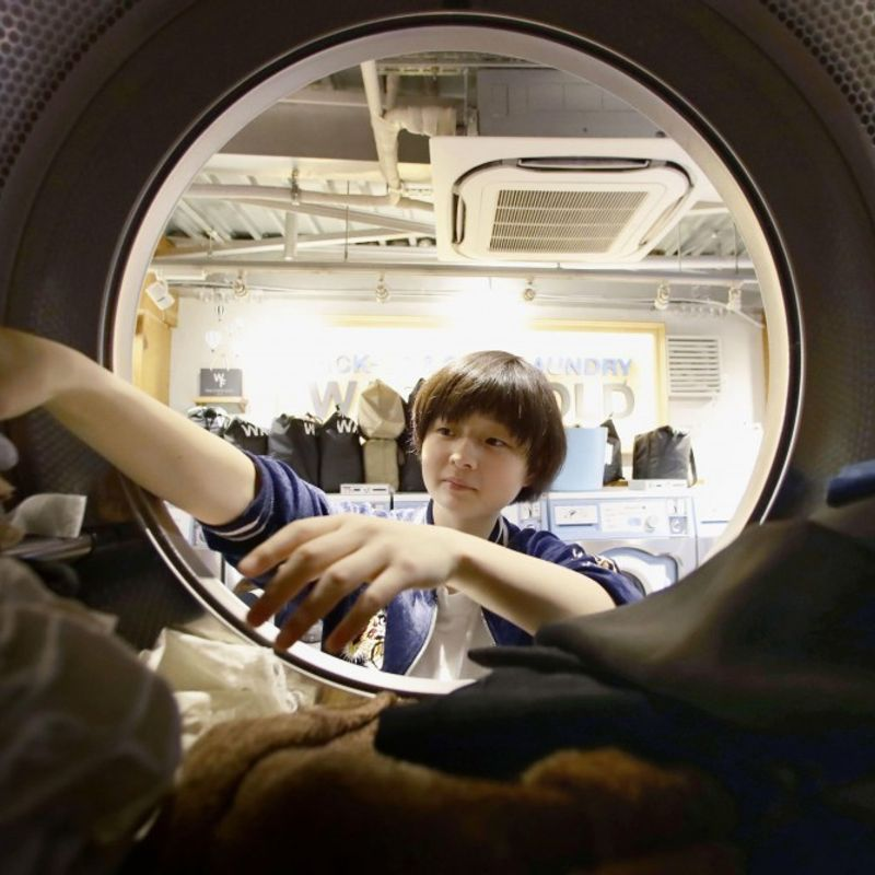 Smartphone service fuels competition among laundries in Japan photo