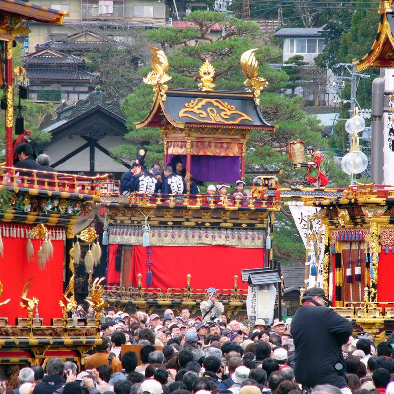 Spring Takayama Festival, one of Japan's most beautiful matsuri photo