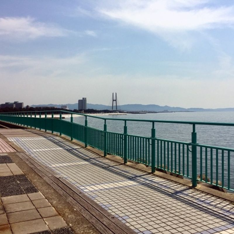 Rinku Park - an Oceanside Haven on the Edge of Osaka. photo