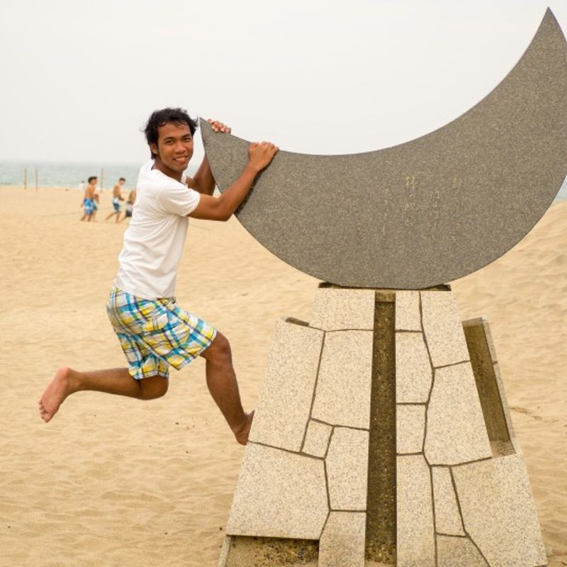 Japan – Fun in the Sun at Onjuku Beach photo