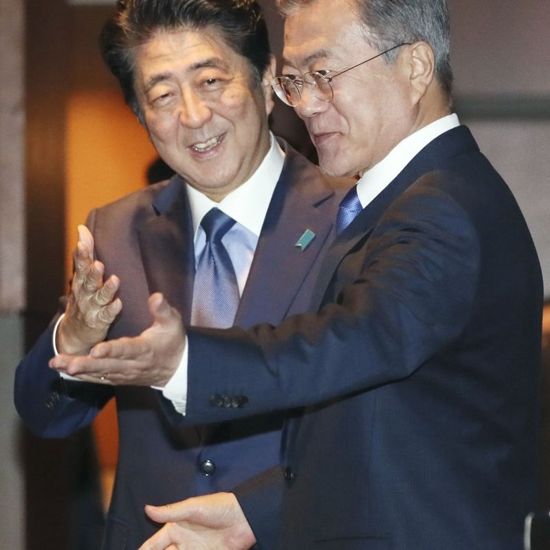 Moon tells Abe North's Kim ready to engage in dialogue at appropriate time photo