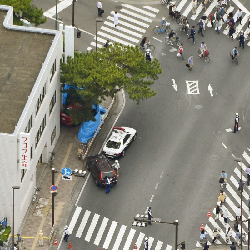 Driver in her 90s hits 4 pedestrians near Tokyo, killing one photo