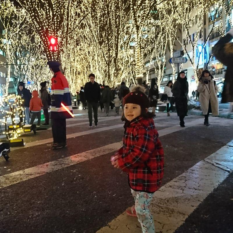 Sendai's Pageant of Starlight with Santa Parade photo