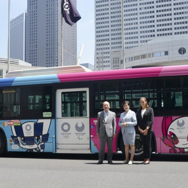 Japan to introduce foreigner-friendly bus services ahead of 2020 Games photo