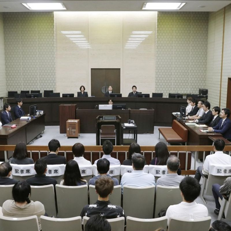 Police prevent woman defendant from wearing bra in Osaka court: lawyers photo