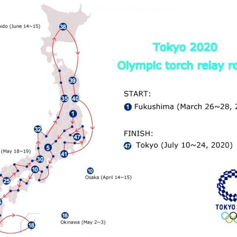 Olympics: Tokyo 2020 Olympic torch relay to start in Fukushima photo