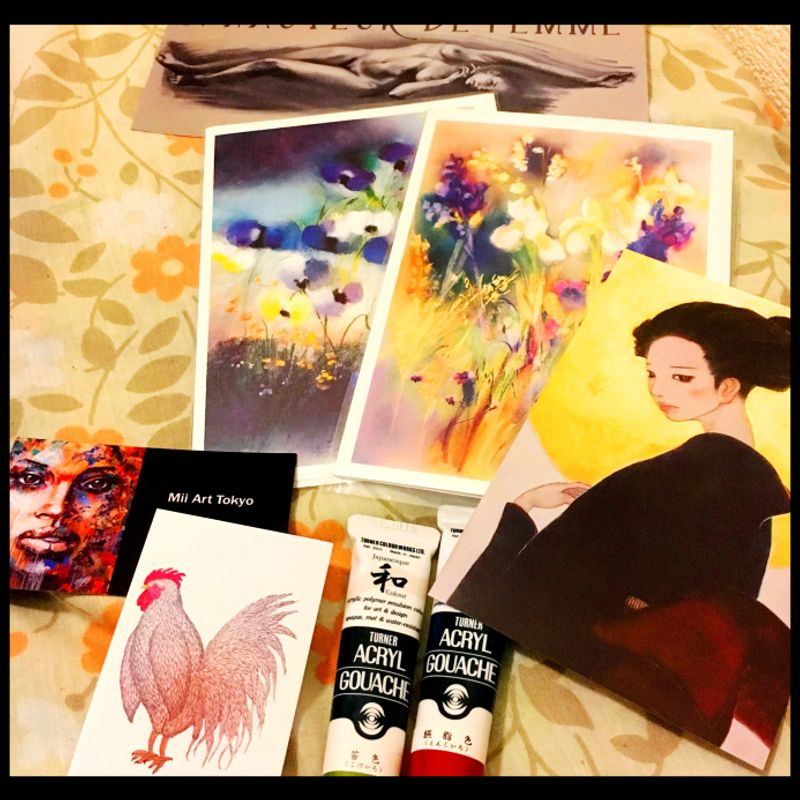First Time Roamers at TOKYO INT'L ART FAIR photo