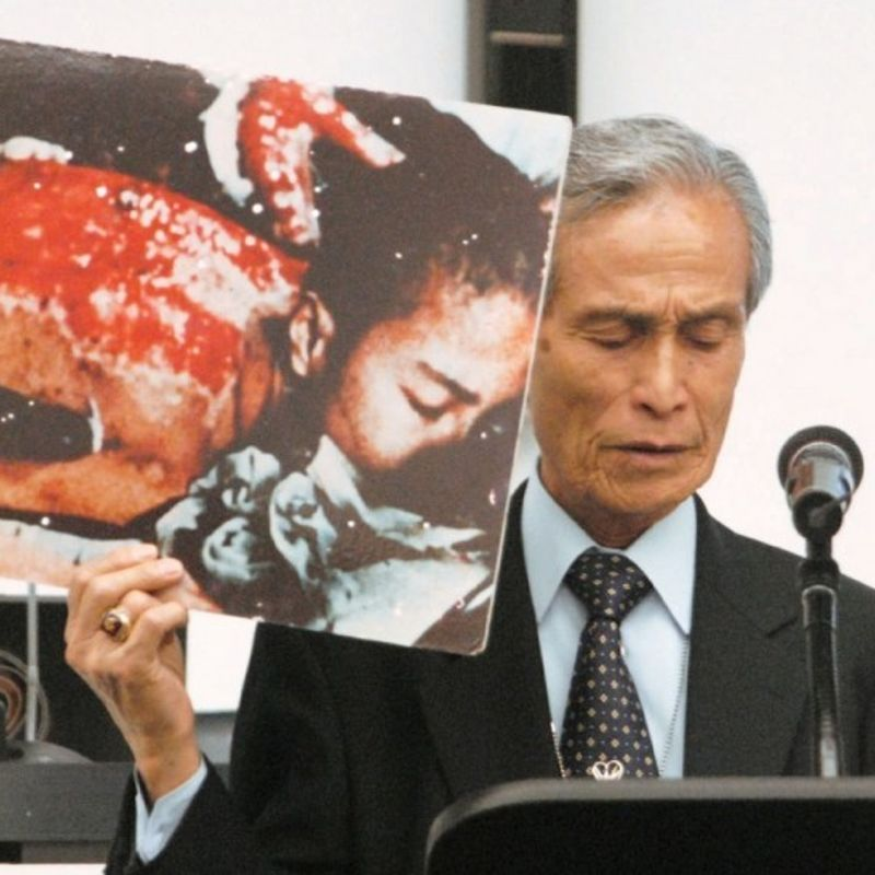 Influential Nagasaki A-bomb survivor Taniguchi dies at 88 photo