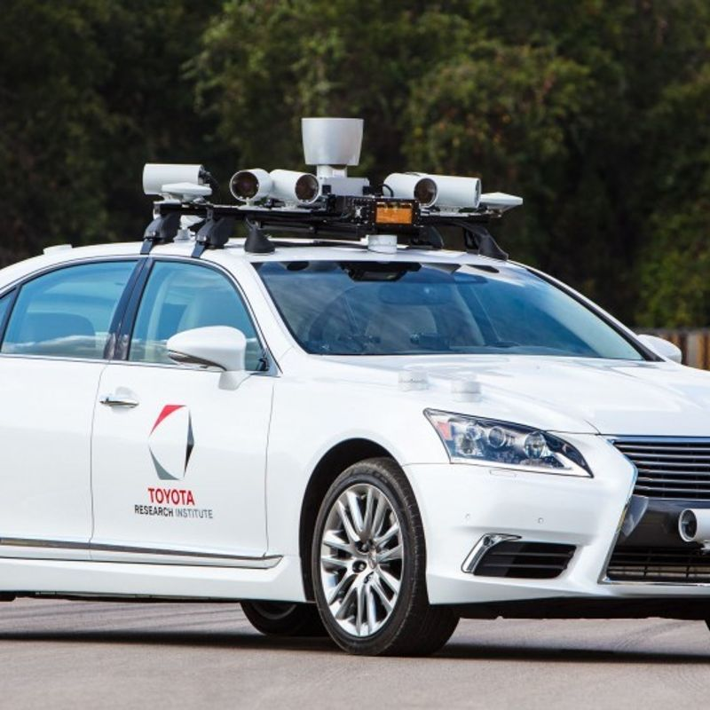 Toyota building self-driving test facility in U.S. photo