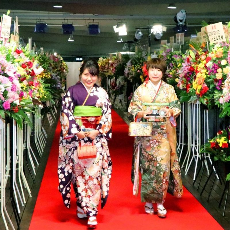 Kimono firm chief arrested after furor on Coming-of-Age Day photo
