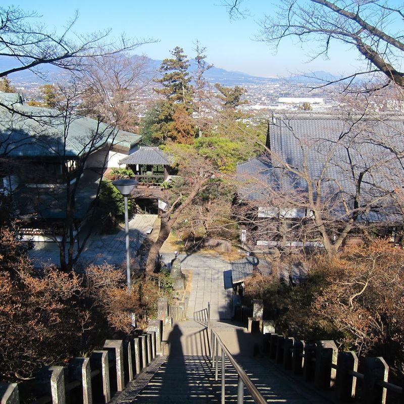 Shorinzan Darumaji Temple in Gunma  photo