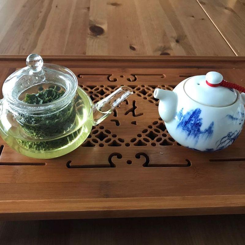 日本茶と中国茶のコラボ photo