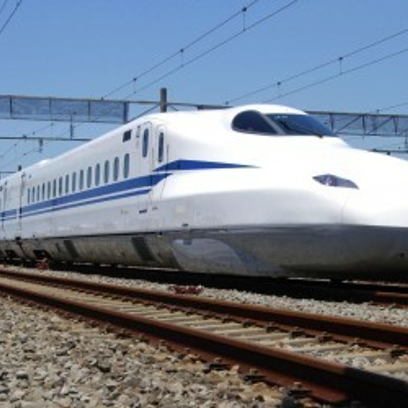 JR Central unveils 1st bullet train with emergency battery system photo