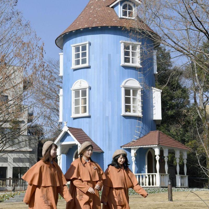 Moomin fairytale amusement park opens near Tokyo photo