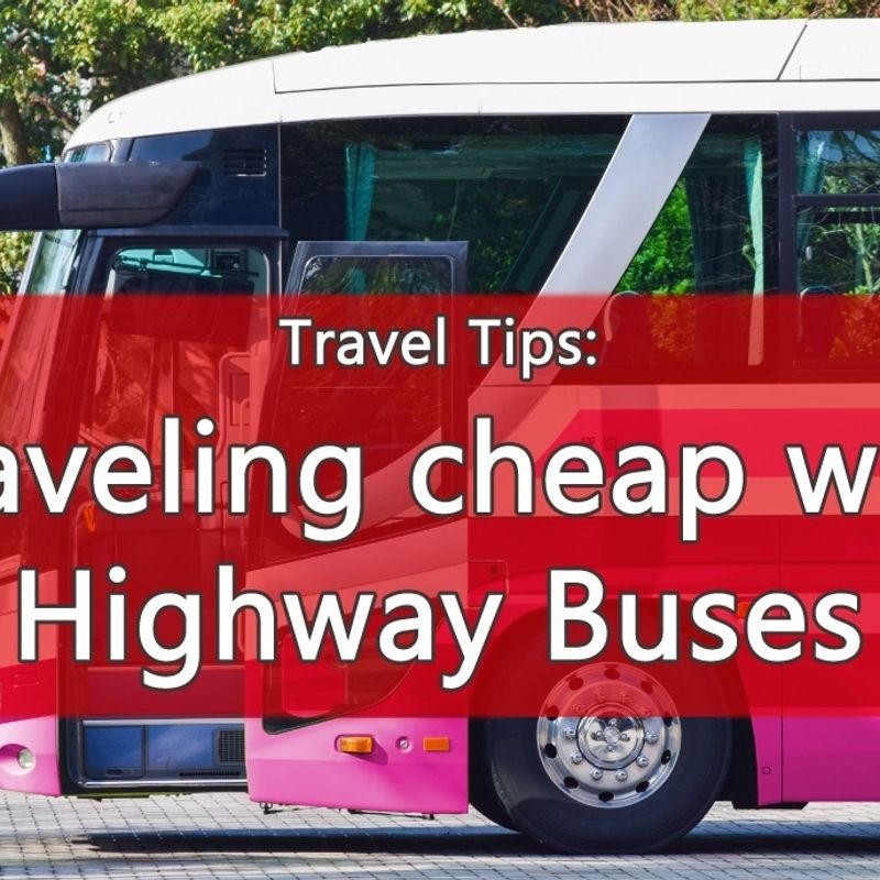 Traveling cheap with Highway Buses in Japan photo