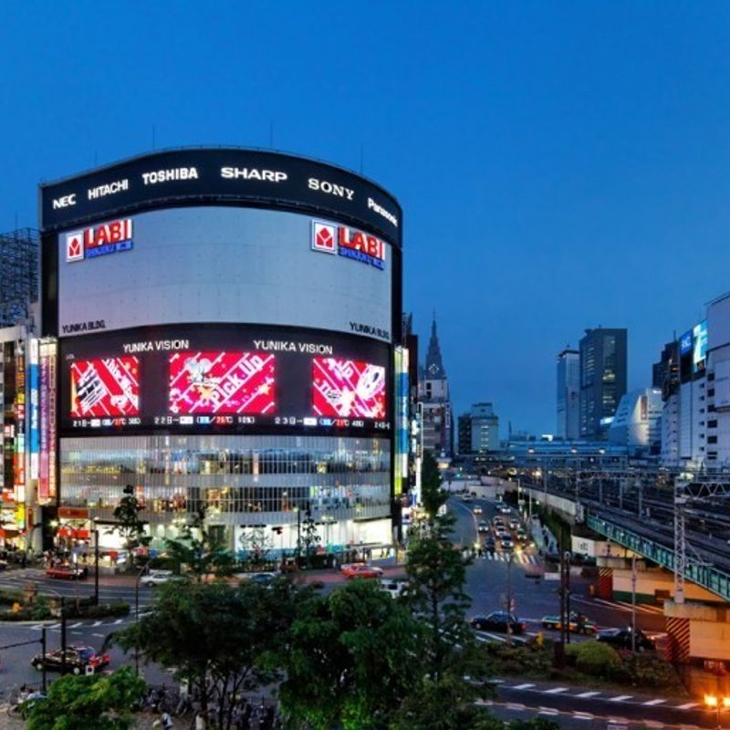 Shinjuku Cinema Square 21 brings short films to Japan's largest LED display photo
