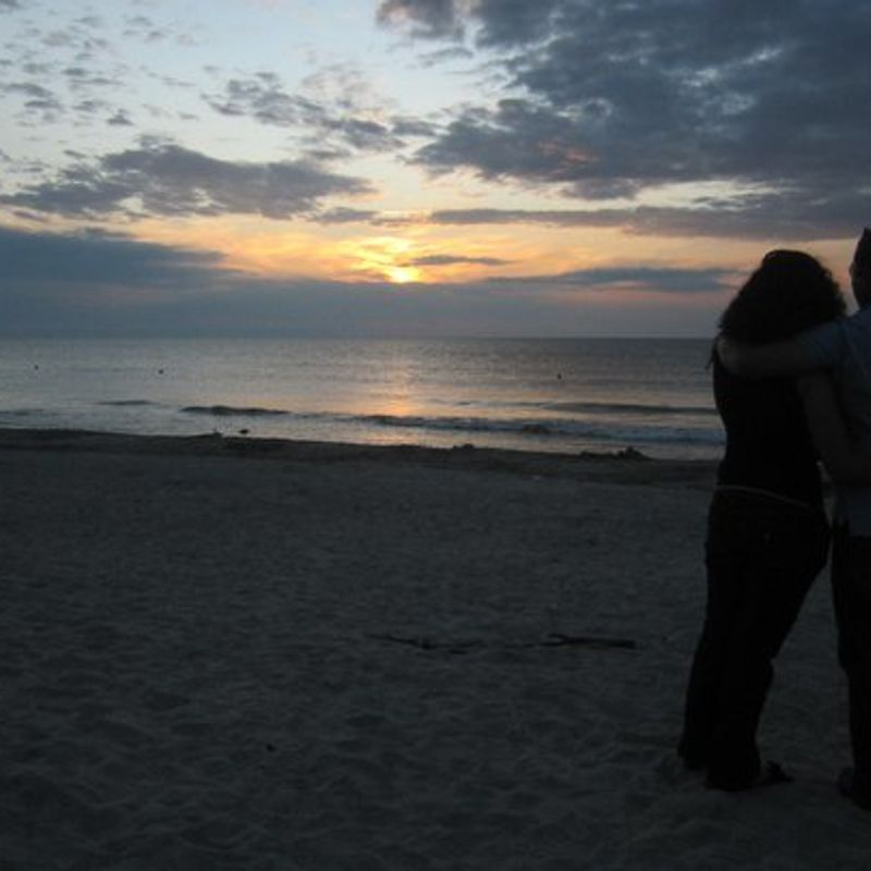 As in the Novels, Niigata's Romantic Sunrise and Sunset !! photo