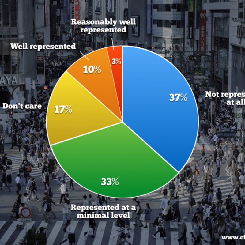 Expat engagement with politics in Japan, expectations of the right to vote photo
