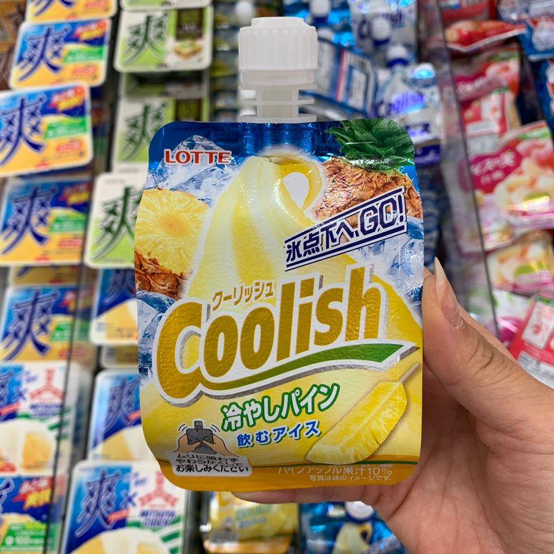 Lotte Coolish - Pineapple photo