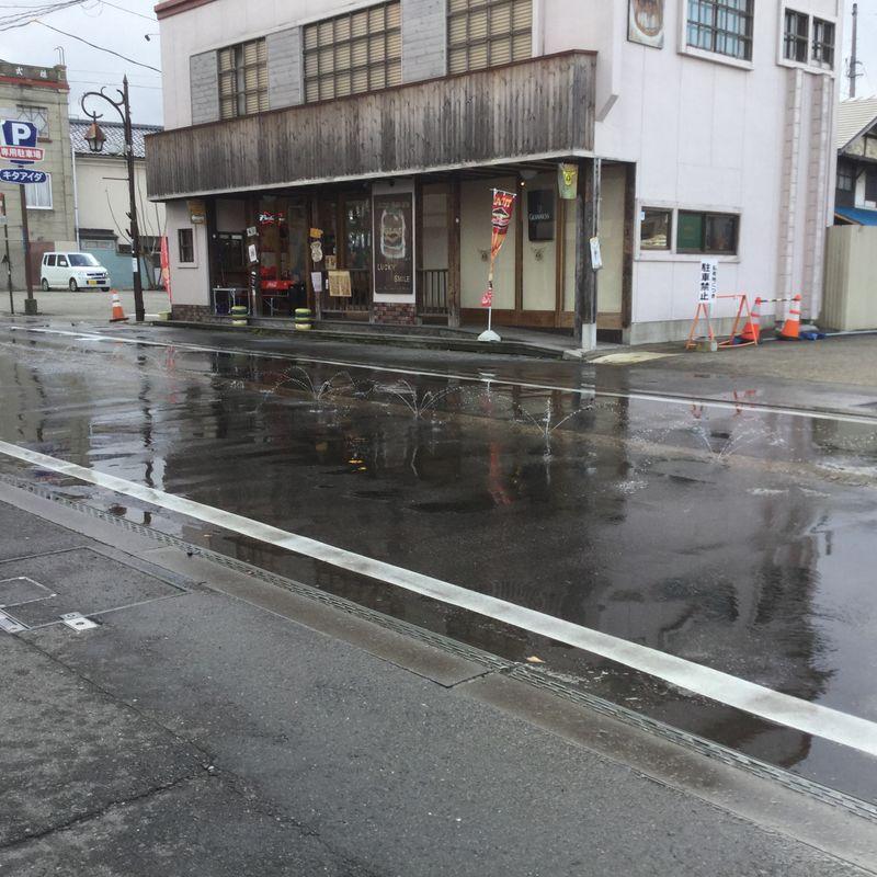 Aizu Wakamatsu City's warm streets photo