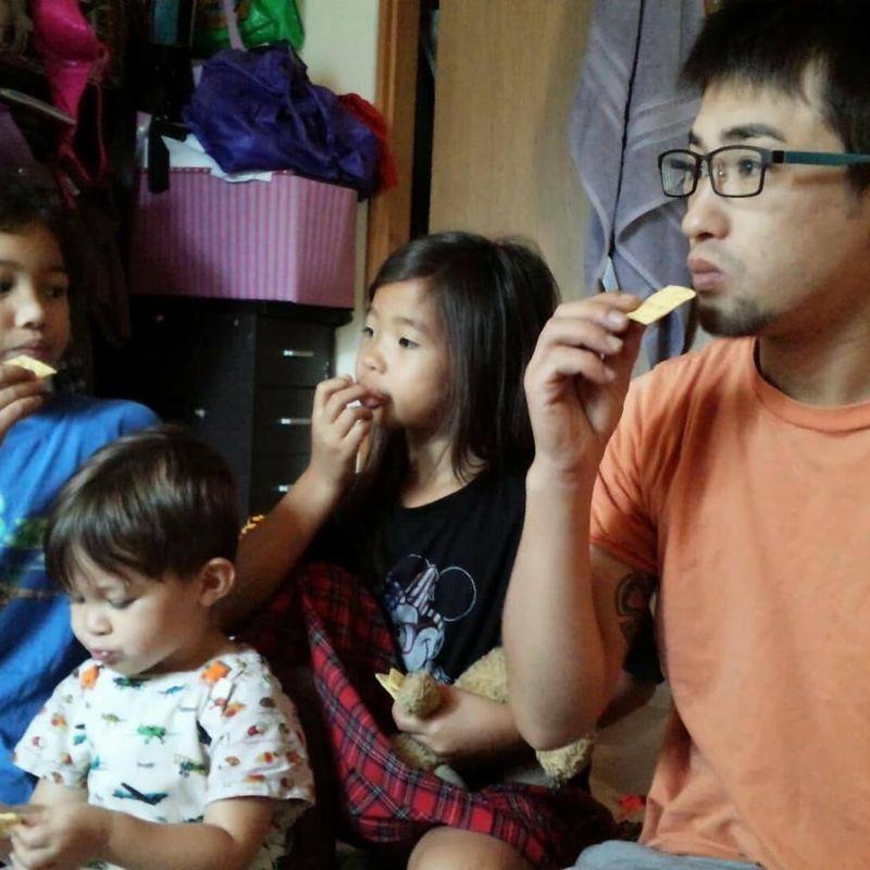 Cheesy snacks photo