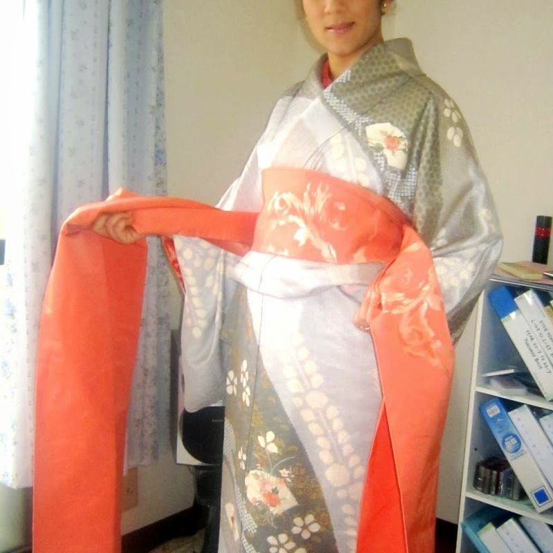 Wearing a special kimono: Cherishing special memories photo