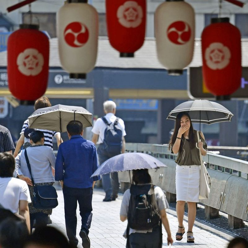 Death toll in Japan heat wave rises to more than 30 photo