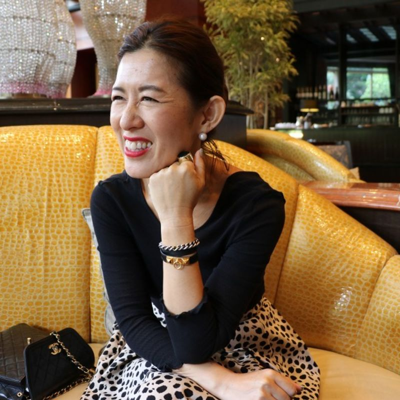 Fashion comes from within, says Japan's style guru Naoko Okusa photo
