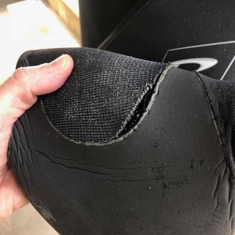 Wetsuit repair and the changing seasons photo