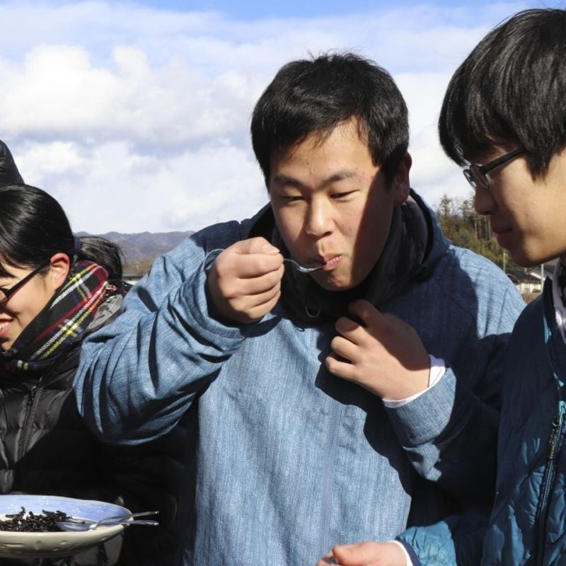 Japan community tries to preserve traditional insect dishes photo
