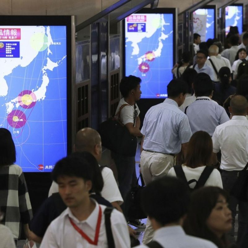Typhoon on course to hit western Japan, could be strongest in 25 yrs photo